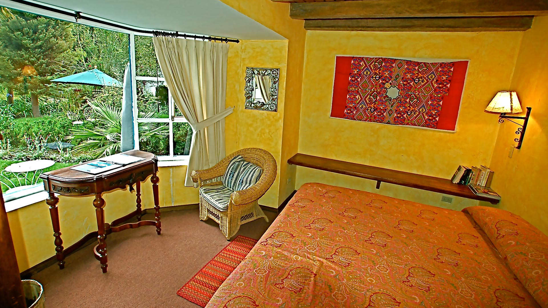 suite dueñitas at Hacienda Cusin