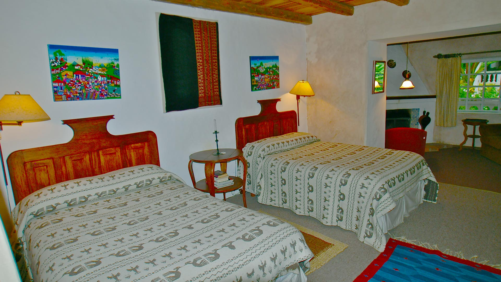 suite cholan at Hacienda Cusin