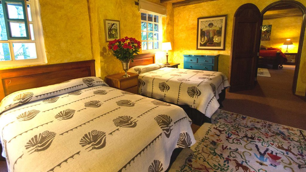 hacienda cusin rooms