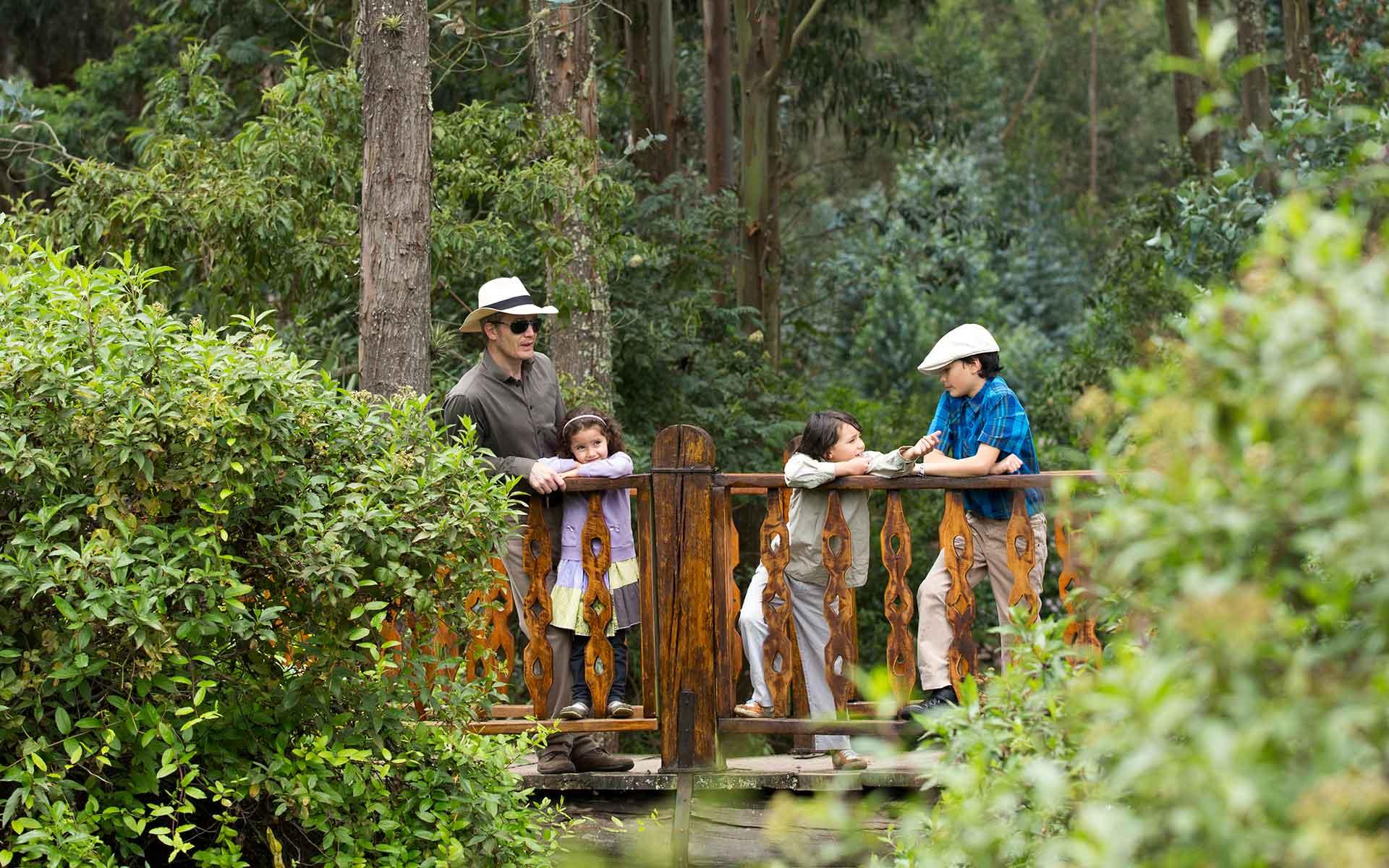 Itinerarios Hacienda Cusin